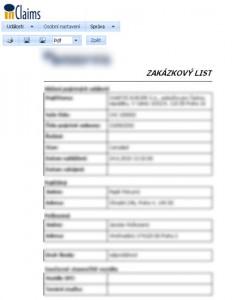 software na zakázku - šablona